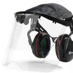 Husqvarna Premium Earmuff with Plexi Visor