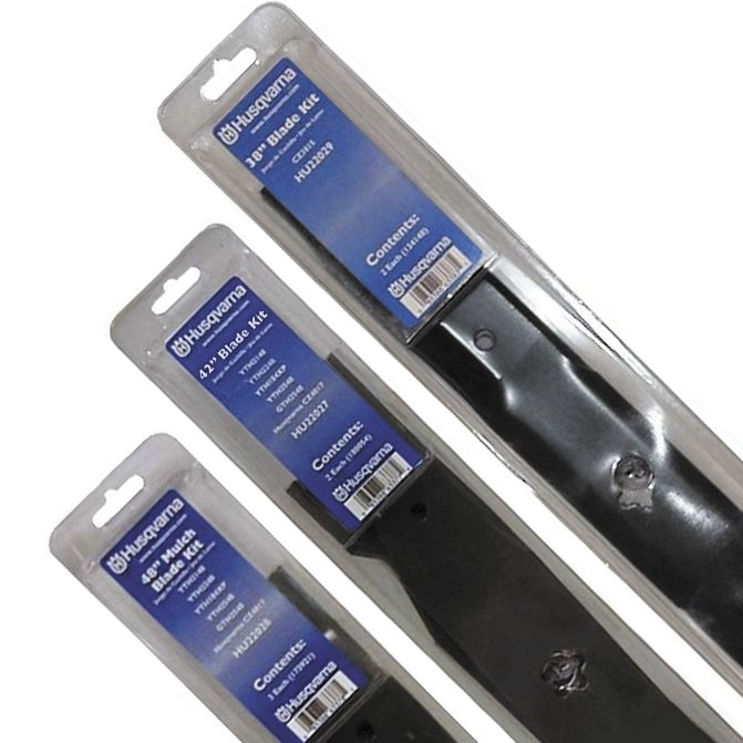 """Husqvarna Blades - High Lift - To fit a 42"""" deck x 2."""