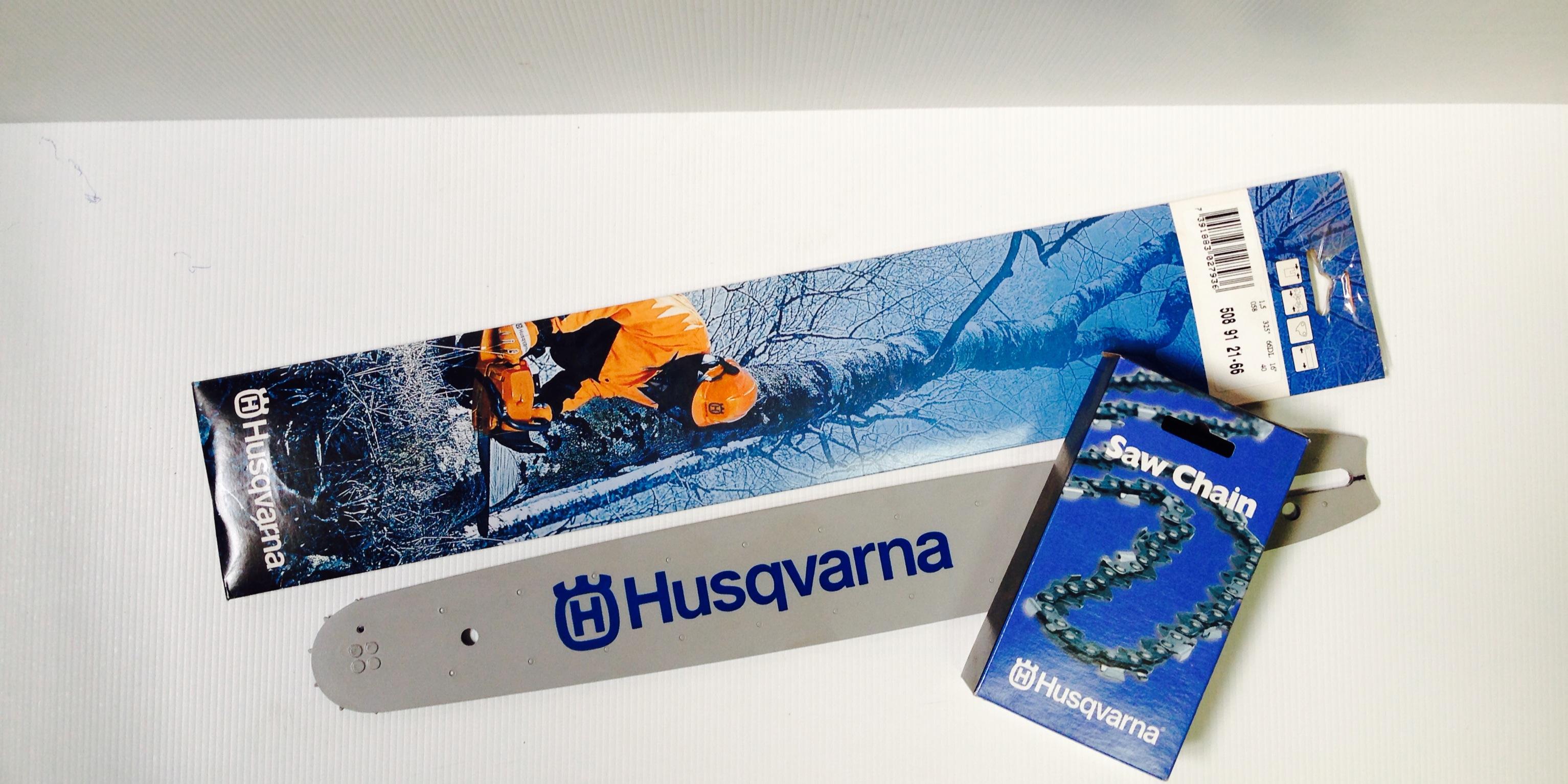 "Genuine Husqvarna Bar & Chain combo - To suit Husqvarna 15"" - 64DL .325 x .050."